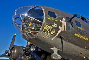 США Мемфис Белл Самолет Второй Мировой