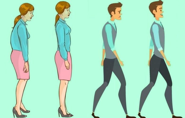 Осанка и простые упражнения для хорошего самочувствия