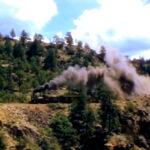 Первая трансконтинентальная железная дорога в США